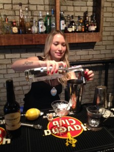 Julia making the Sola de Vega