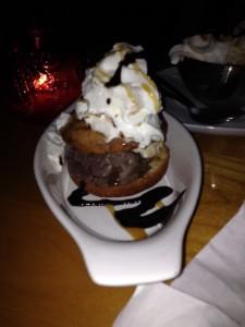 Ice Cream Donut - The Cannabile Cafe (Commercial Drive)