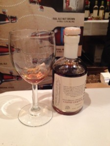 A coffee collaboration  Coffee Liqueur from Pemberton Distillery with Salt Spring Coffee Company