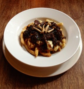 Red Wine Braised Beef Cheek Poutine