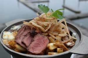 Steak O Funguy Poutine