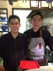 Chris Lee (left) & Chef Eric Lee (right) owners of Damso