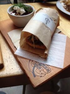 Korean Short Rib Sandwich