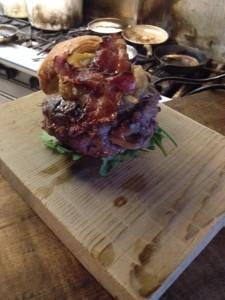 Stuffed Venison Burger