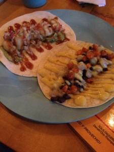 Canaron Taco & Chayote Taco