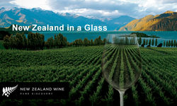 new zeland in a glass