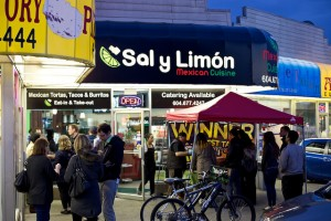 sal y limon sign