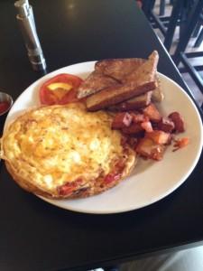 Egg white Tapas 23 Omelette