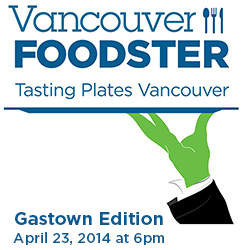 Our next Tasting Plates event