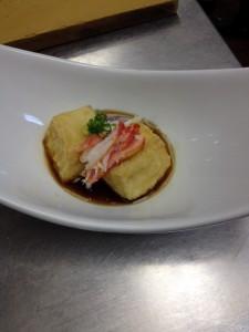 Cauliflower and Tofu Agadashi
