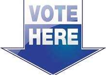 vote here logo