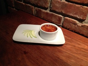 Salted Caramel Apple Creme Brulee
