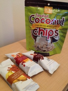 Toasted Coconut Chips & Gluten Free Cocoa Slims Dessert Crackers