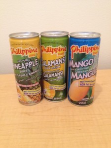Philippine Juice Nectar drinks