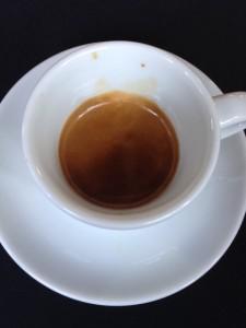 La Futura espresso  made up 10 or 11 coffee bean varietals