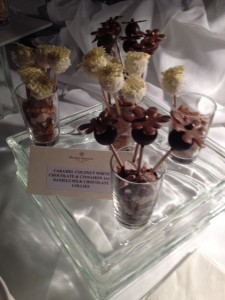 Chocolate Pop Rocks dessert from the Sheraton Wall Centre