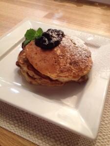 Flax Seed Pancakes
