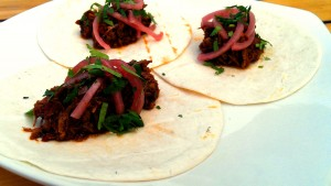 Darby's Braised Lamb Tacos