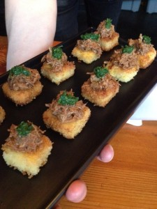 Fried Polenta & Lamb Ragu