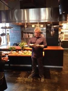 Bill talking about edible plants