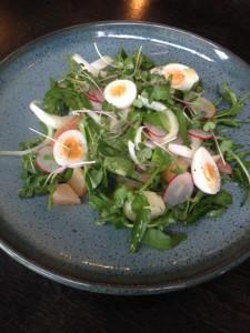 Watercress Radish Salad