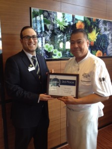 Allister Cave ( F & B Manager) & Chef Robert Uy