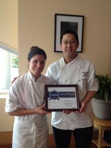Pastry Chef Gabriela Gandolfo (left) &