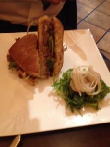 Ras-el-hanout Lamb Sandwich