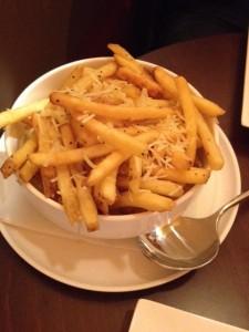 Truffle Parmesan Fries
