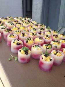 Beet Salad in daikon