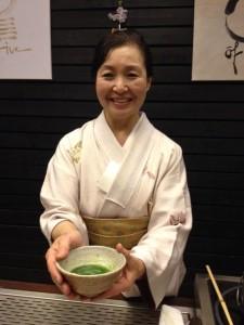 sakura tea matcha