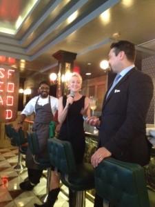 Chef Alvin Pillay, Host DJ Kearney and Bartender Jay Jones