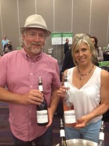 Owners of Sage Hills Organic Estate Vineyard
