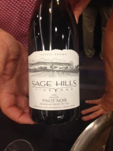 Sage Hills Pinot Noir