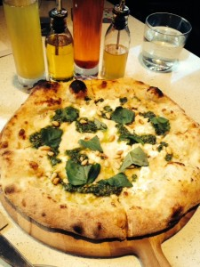 Pesto & Ricotta Pizza