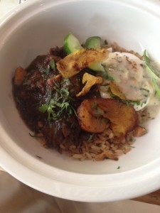 Oxtail Stew Brunch Bowl