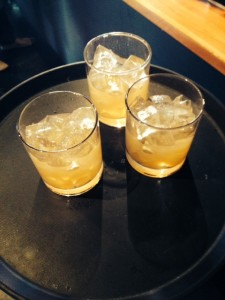 Maple Whiskey Sours