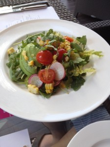 Sucreme and Arugula Salad