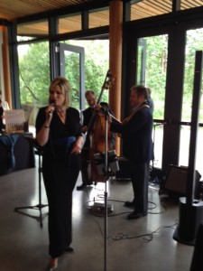 Dawn Chubai and her trio