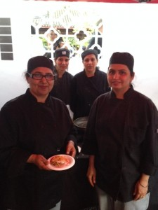 Chefs team from Vij's Restaurant