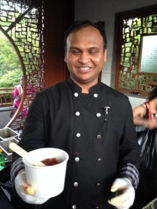 Chef Roy of Atithi Indian Cuisine