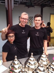 Maestro James and his Bella Gelateria team