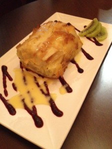 Cherry and Cheese Strudel