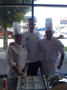 Chefs team at CAVU Kitchen Bar
