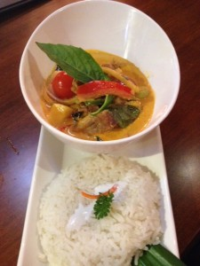 BBQ Duck Lychee Curry