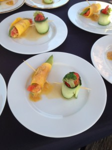 Vegetable and Tuna Fish Wrap