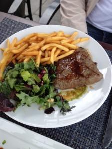 Flat Iron Steak Frites