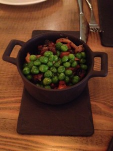 English Peas & Foraged Mushrooms