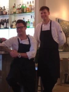 Executive Chef Spencer Watts (Left) Chef Rory Higdon (Right)