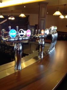 Main level bar taps